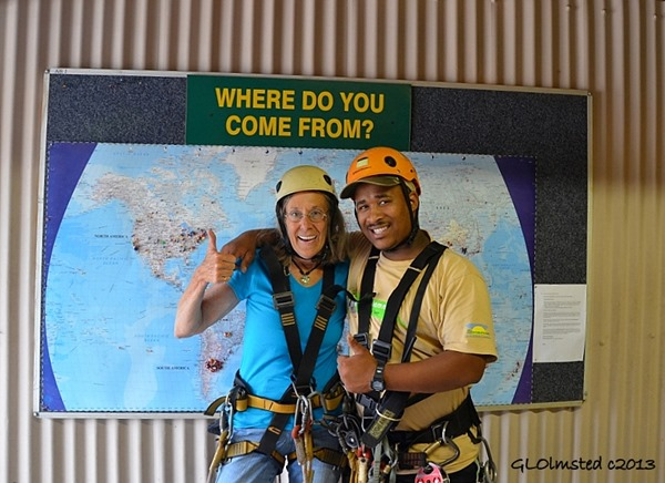 Gaelyn & Marius Tsitsikamma Canopy Tour Storms River South Africa