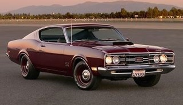 1968 Mercury Cyclone Cobra Jet from net