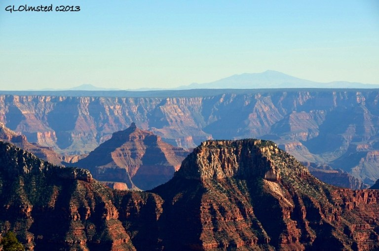 View from North Rim Grand Canyon National Park Arizona