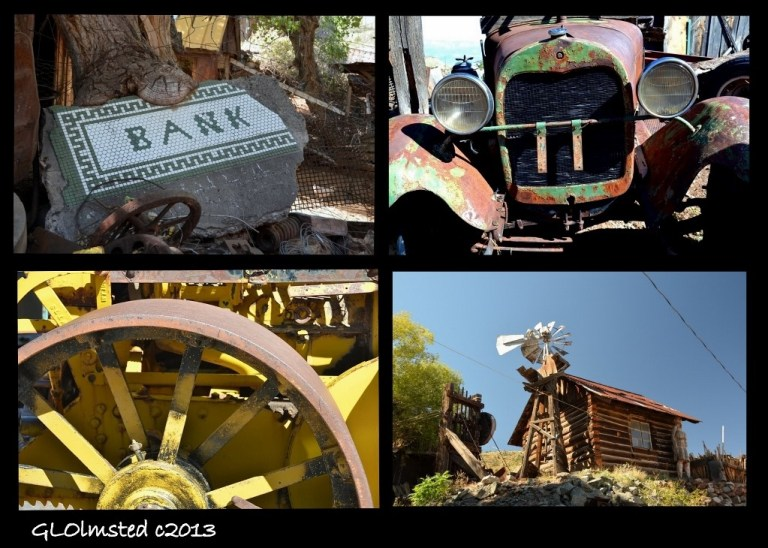 Stuff at Gold King Mine Ghost Town Jerome Arizona