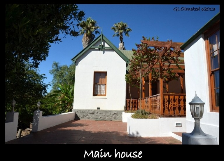 Original farmhouse Warmwaterberg Spa Barrydale South Africa