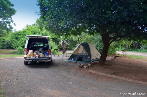 Camp at Lower Sabie Kruger National Park South Africa