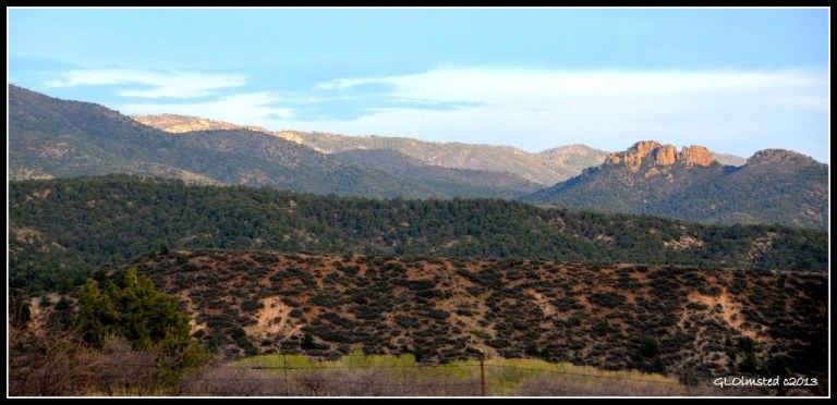 Bradshaw Mountains from Iron Springs Road Arizona