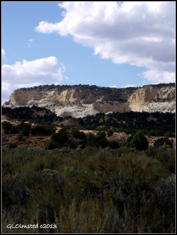 View from Johnson Canyon Road Grand Staircase Escalante National Monument Utah