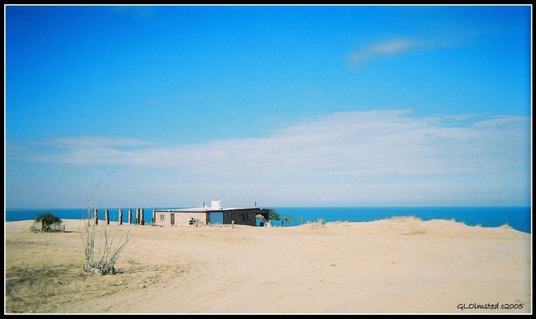 Cool house along the Sea of Cortez San Felipe Baja Mexico
