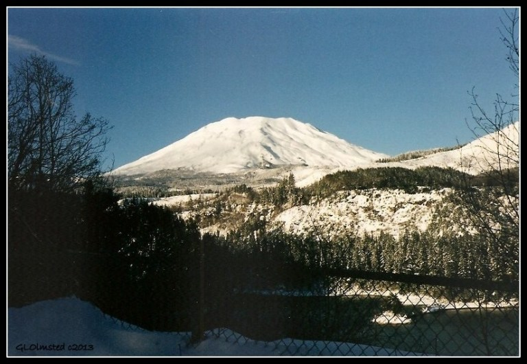 Mount Saint Helens southside Gifford Pinchot National Forest Washington
