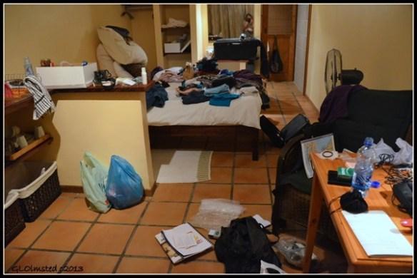 Packing at Alvera Guest House Room 4 Stellenbosch South Africa