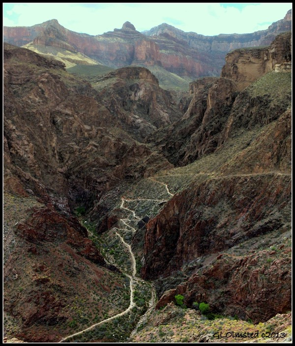 Devil's Corkscrew Bright Angel Trail Grand Canyon National Park Arizona