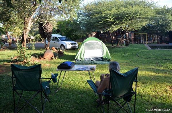 Wag-n-Biekie Bar camp Groot Marico South Africa