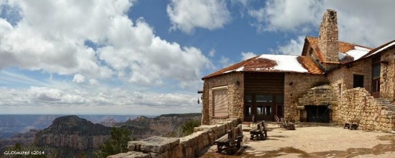 Grand Lodge closed North Rim Grand Canyon National Park Arizona