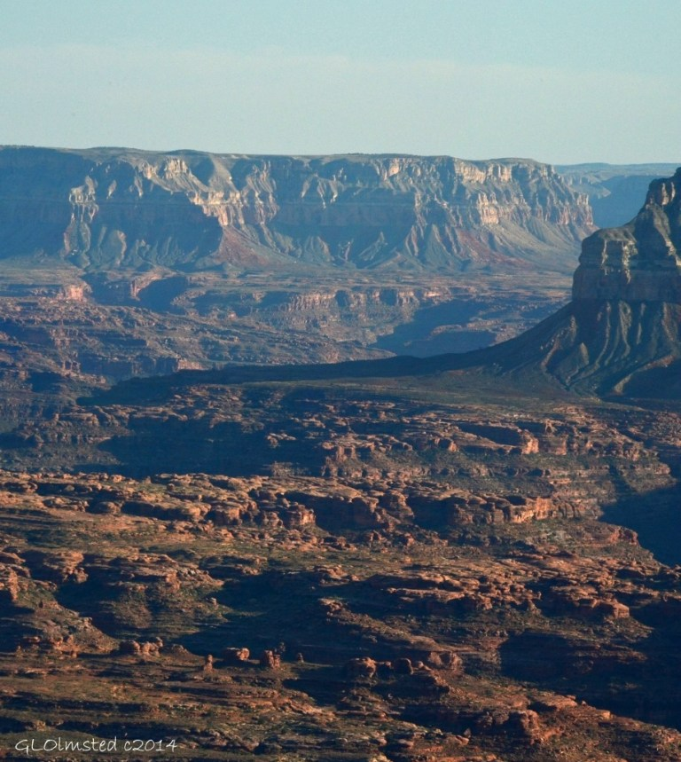 Esplande from Jumpup Point Grand Canyon Arizona