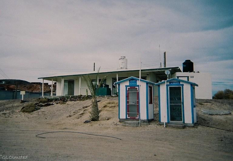 Post Office & Library Puerto Cito Baja Mexico