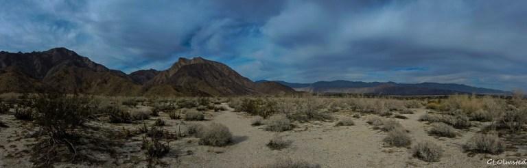 Santa Rosa Mountains Anza-Borrego Desert State Park California
