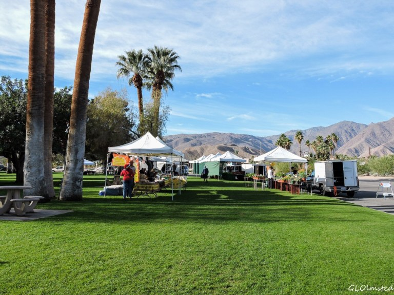 Farmer's Market Christmas Circle Borrego Springs California