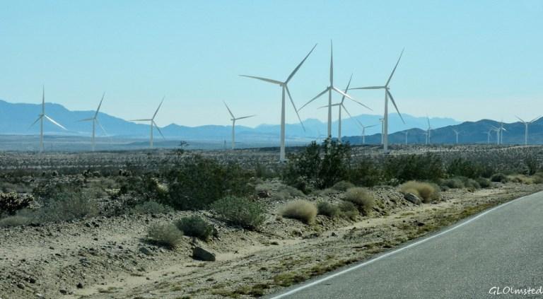 Wind farm Ocotillo California
