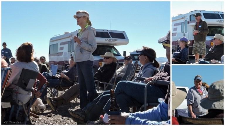 Gayle, Ivan & Judy Blogger-Fest Plomosa Road BLM Quartzsite Arizona