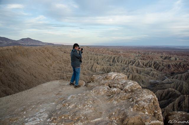 Lynda Badlands from Fonts Pt Anza-Borrego Desert State Park California