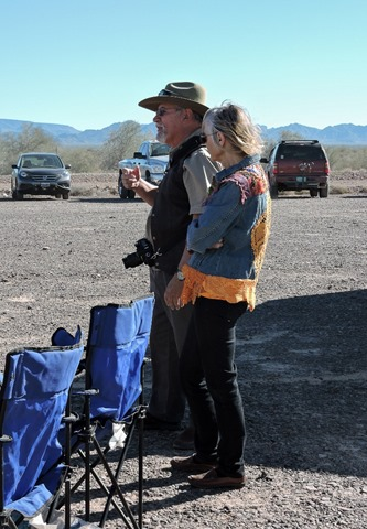 Al & Kelly Blogger-Fest Plomosa Road BLM Quartzsite Arizona