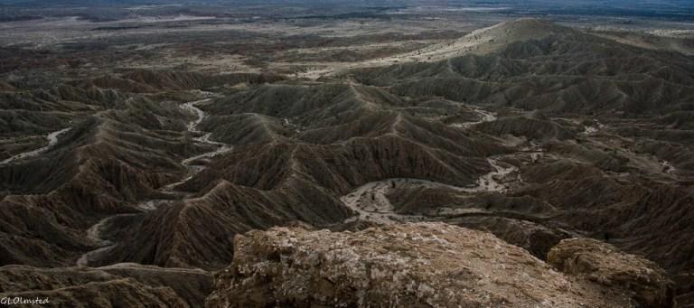 Badlands from Fonts Pt Anza-Borrego Desert State Park California2