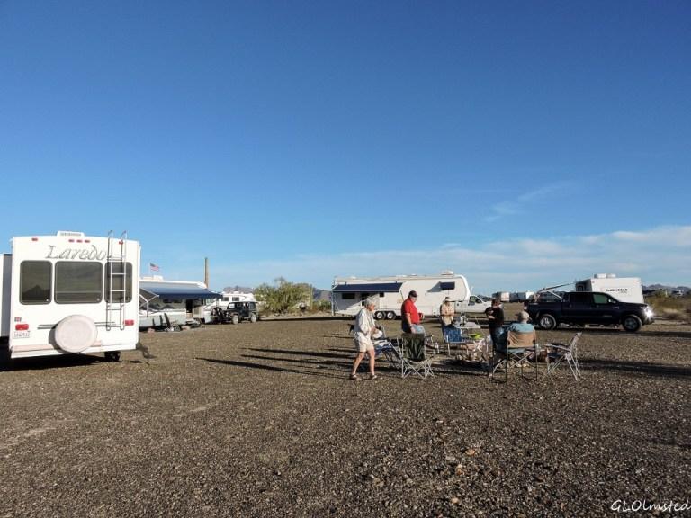 Hanging out in the desert Quartzsite Arizona