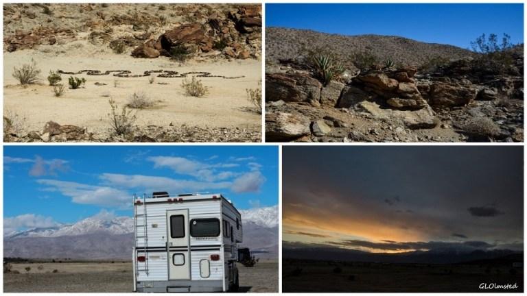 Anza-Borrego Desert State Park California