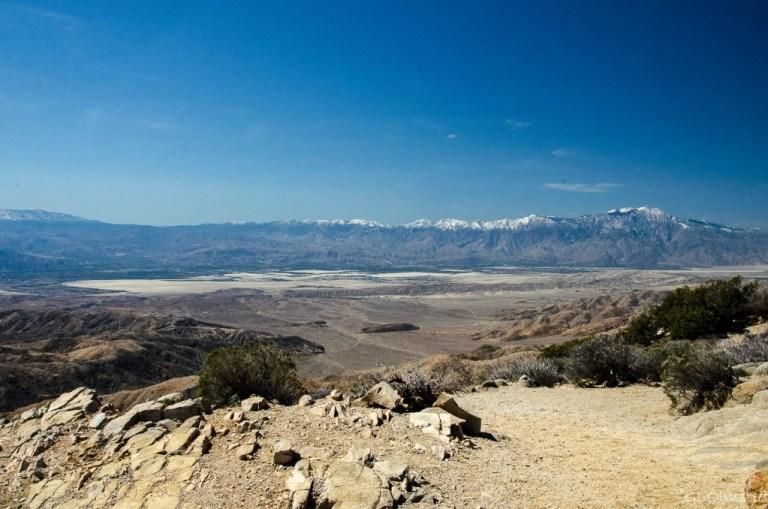 Coachella Valley & San Jacinto Mountains from Keys View Joshua Tree National Park California