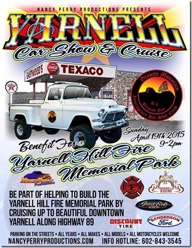 Yarnell Car Show poster