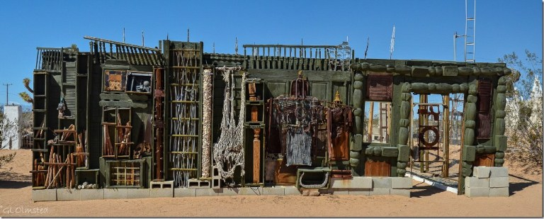 Noah Purifoy's Desert Art Museum Joshua Tree California