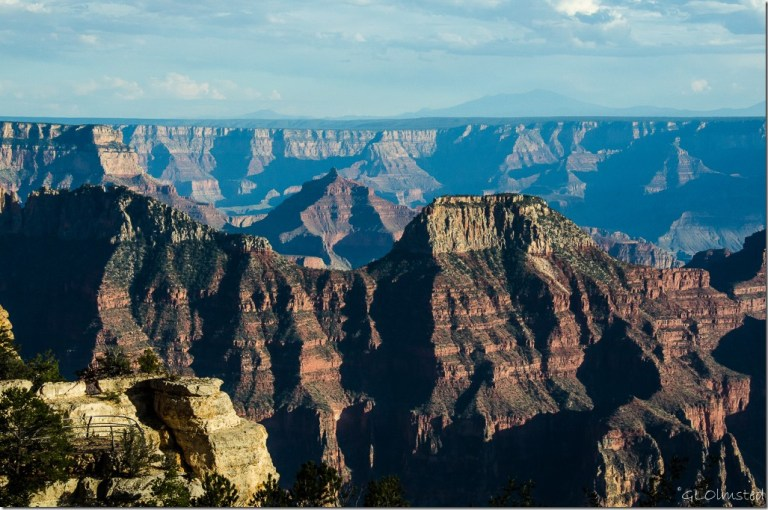 Temples from Lodge North Rim Grand Canyon National Park Arizona