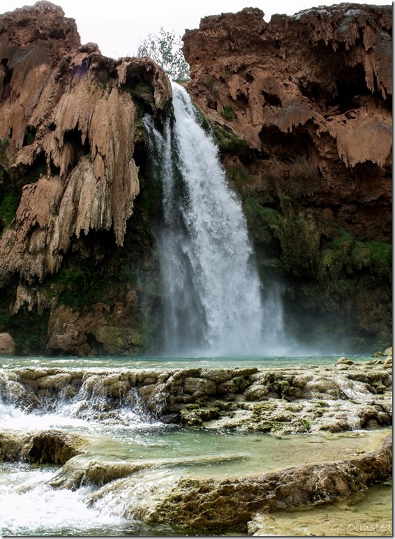 Havasu Falls Havasupai Indian Reservation Arizona