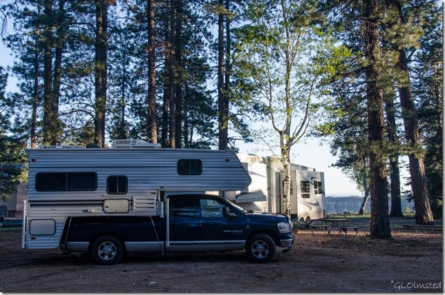 Truckcamper & 5th-wheel North Rim Grand Canyon National Park Arizona