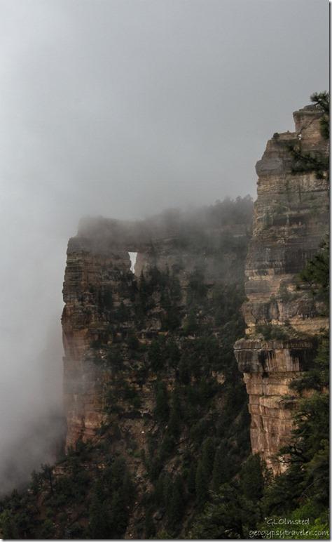Inversion & Angels Window North Rim Grand Canyon National Park Arizona