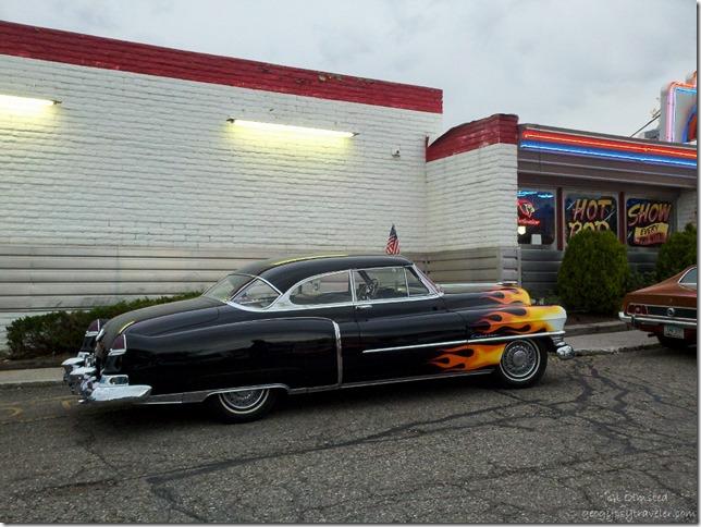 Old Cadillac Galaxy Dinner Flagstaff Arizona