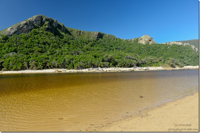 The lagoon Tsitsikamma National Park Nature's Valley South Africa