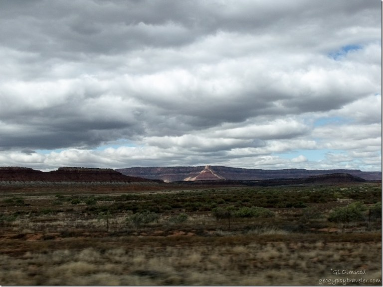 View NE from SR389 Arizona