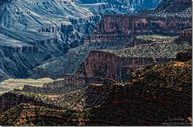 04 Bright Angel Canyon from Lodge North Rim Grand Canyon National Park Arizona