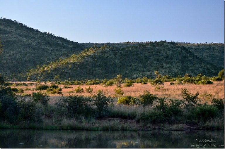 Last light Pilanesberg Game Reserve South Africa