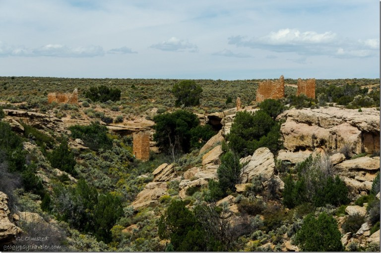 Hovenweep House, Square Tower & Hovenweep Castle Hovenweep National Monument Utah