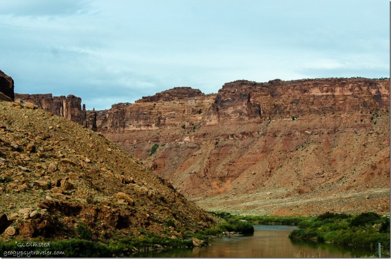 Colorado River UT128 Colorado Riverway Recreation Area Utah