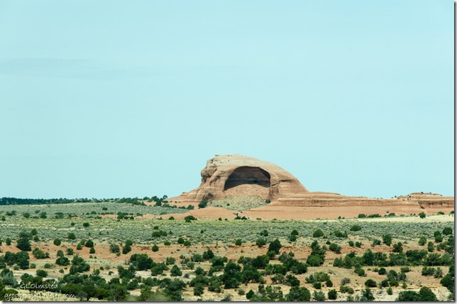 Arch in the making US191 Utah