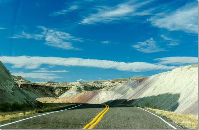 Caineville Reef Capitol Reef Country Scenic Byway UT24 Utah