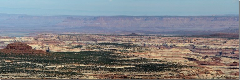 Southern Canyonlands National Park from BLM Utah