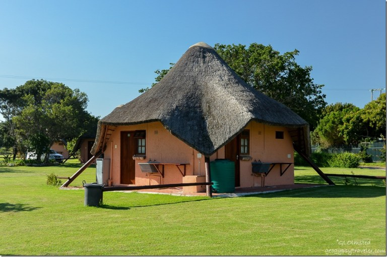 Private bathrooms Green Fountain Farm Resort Port Alfred South Africa