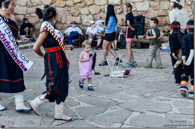 Miss Hopi's attendents & Dog tail dance Heritage Days North Rim Grand Canyon National Park Arizona