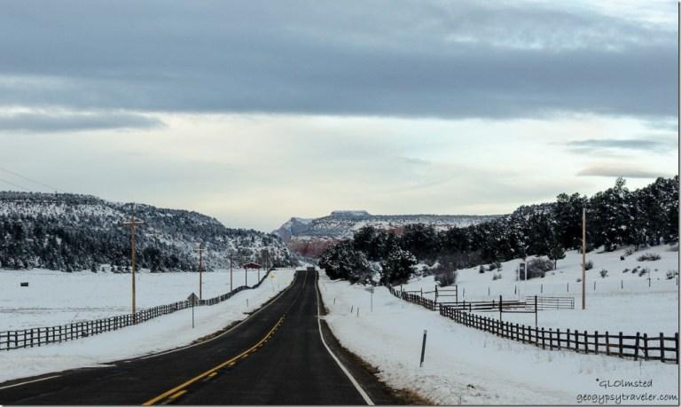 SR9 west Utah