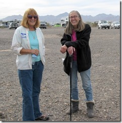 Jean & Gaelyn Bloggerfest 2016 Quartzsite AZ by Al