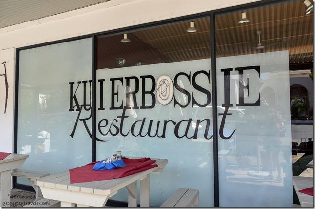 Kuierbossie Restaurant R44 Talbaugh South Africa