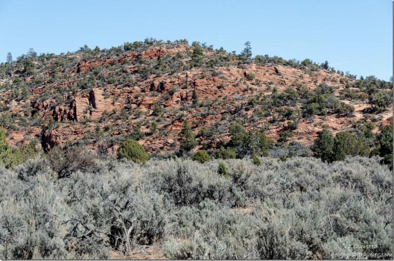 Cliffs above BLM11 Utah