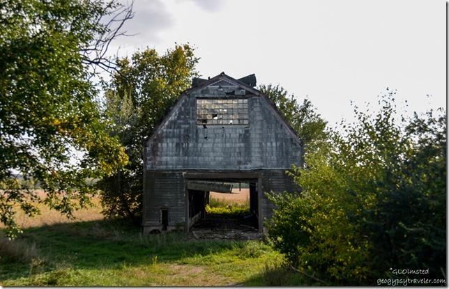 Old barn along SR6 east Illinois