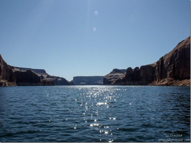 Dry Rock Creek Canyon Lake Powell Utah